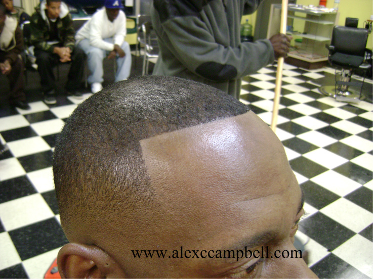 Temp Fade Haircuts for Black Men