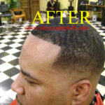 LOW BLENDED BALD FADE