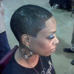 BLACK SHORT HAIR