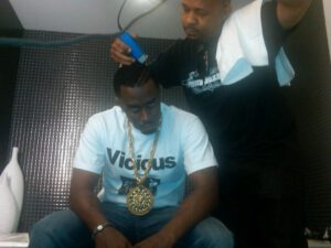 CELEBRITY BARBER HAIRCUTS